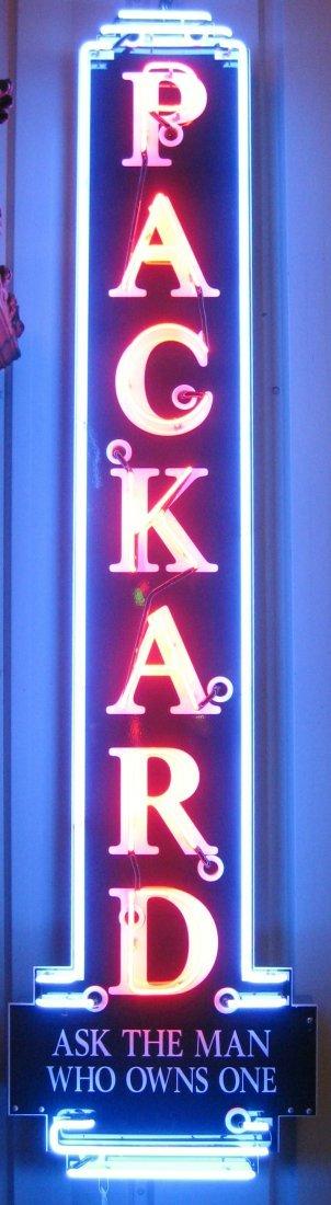 "169: ""Packard"" Neon Sign After the Original"
