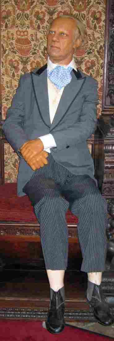 214: Madame Tussaud's wax figure President Ford
