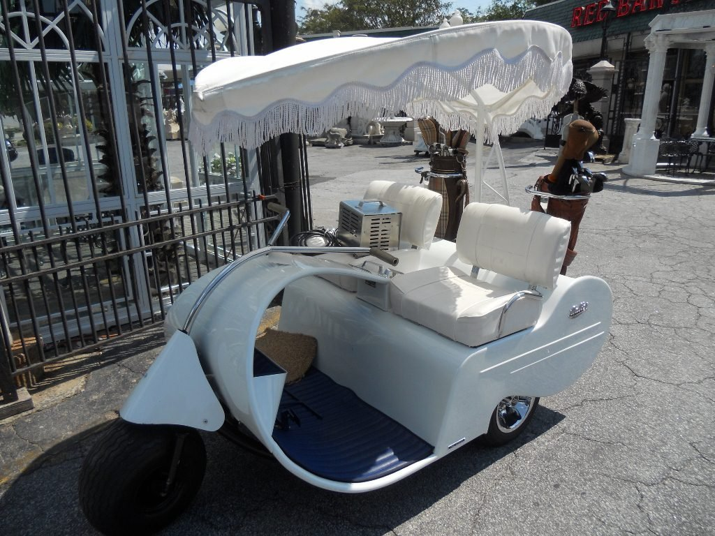 215: Restored 1957 Jato Electric Golf Cart