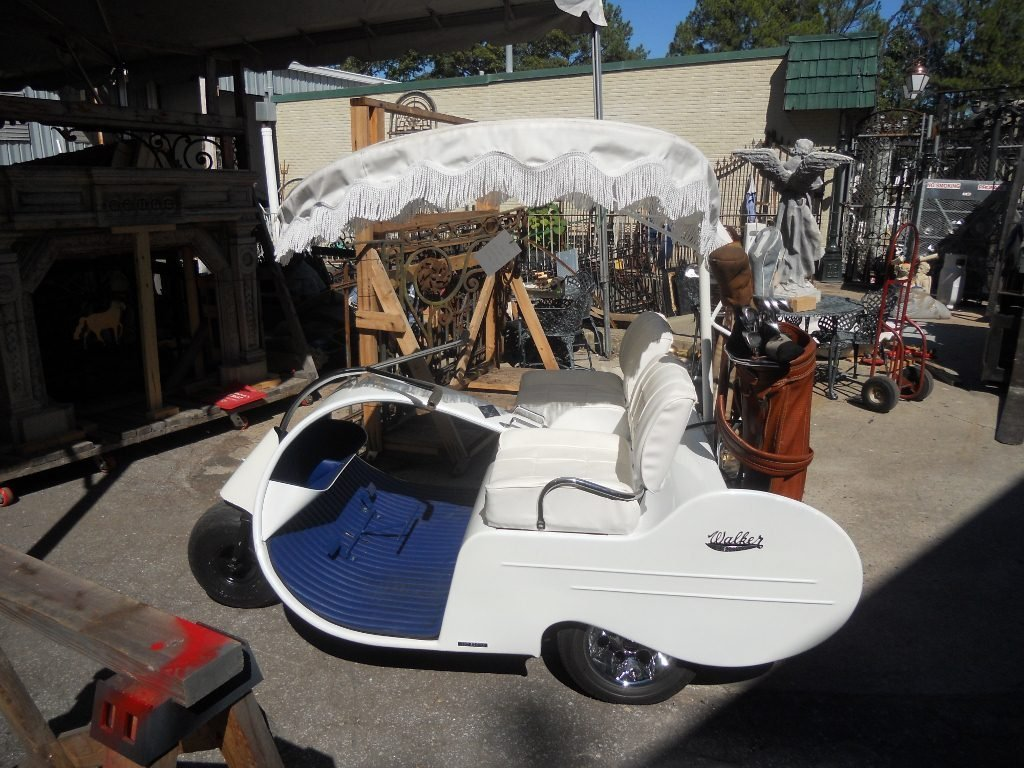 215: Restored 1957 Jato Electric Golf Cart - 2