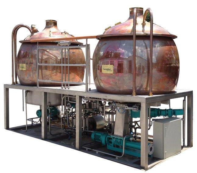 462: German 500 gallon Brewery
