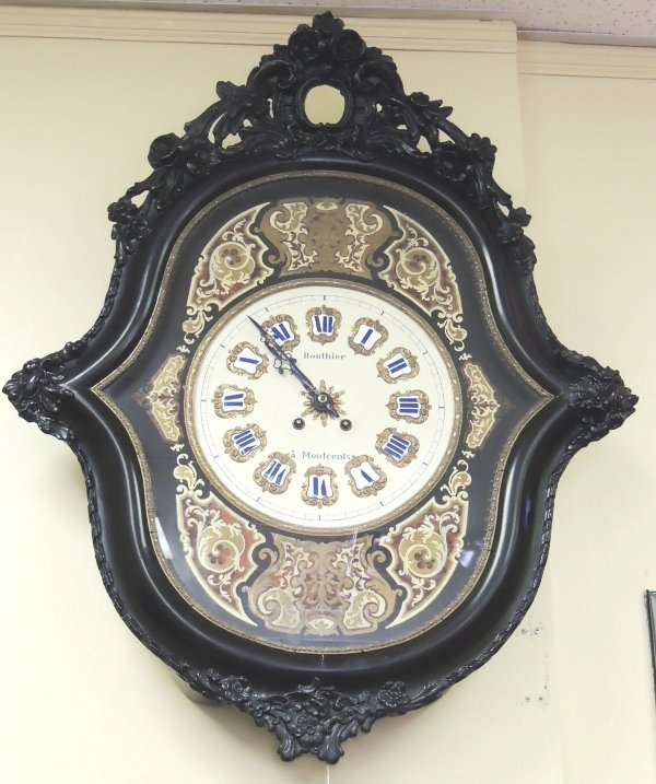 1: Bouthier a Montcenis French regulator clock