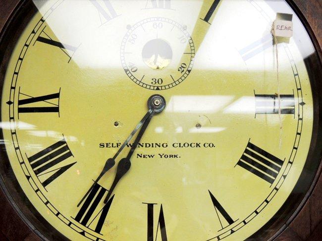 7: Self-winding Clock Co., NY; wall clock - 2