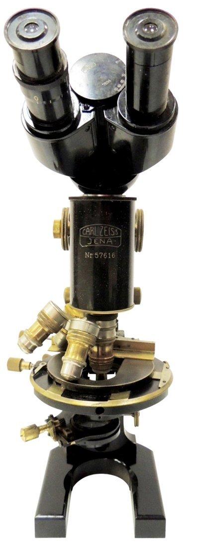 9: Carl Zeiss Jena microscope #57616