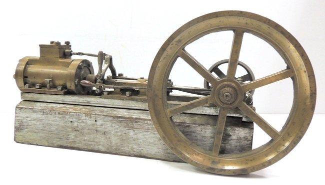 15: John M. Knauf 1881 steam engine with a brake