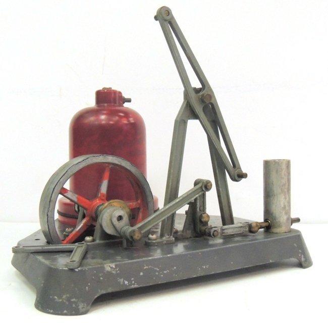 23: Incomplete steam pump model