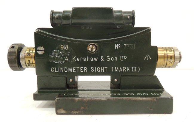 33: A. Kershaw & Son Ltd. Clinometer Sight (Mark 3) - 2