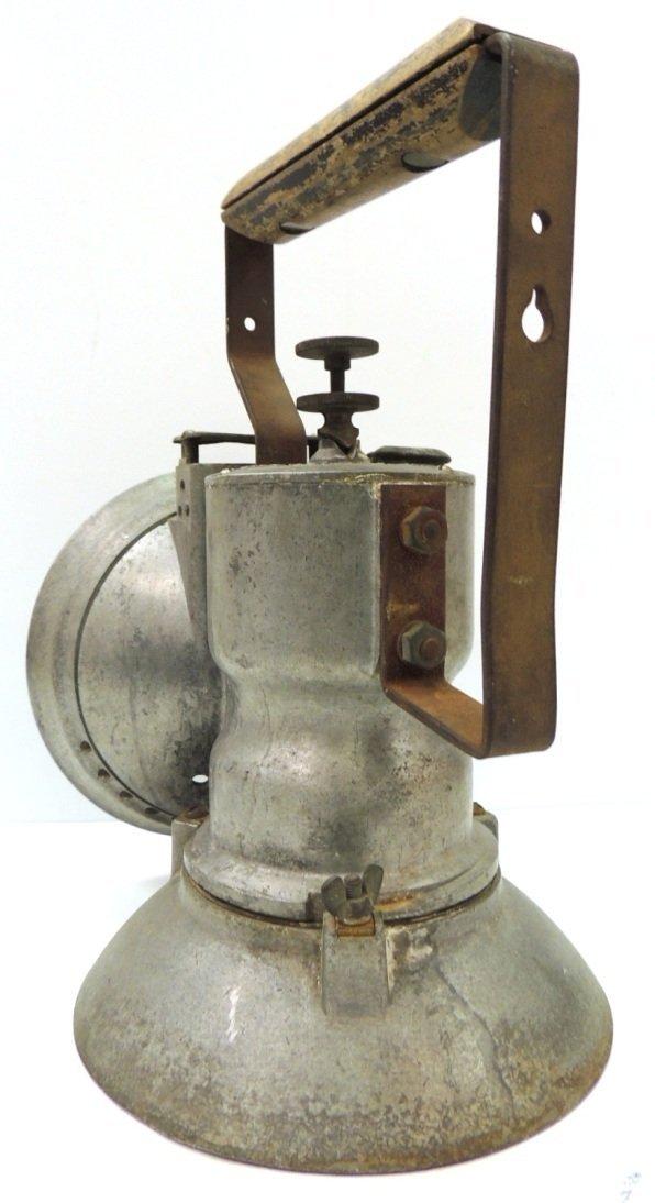 211: Oxweld railroad model A union carbide lamp - 4