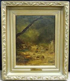 """""""Rock Creek"""" by Homer Dodge Martin, 1862"""