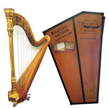 Vintage Lyon & Healy harp