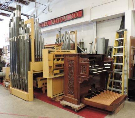 Aeolian pipe organ - 2