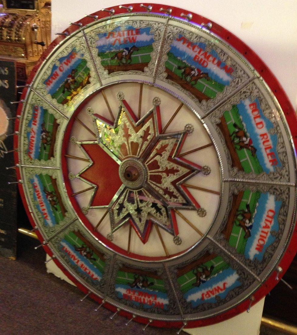 H.C. Evans horse race wheel
