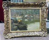 Anthony Thieme original oil on canvas