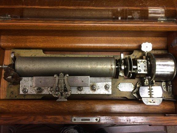 Cylinder music box - 7
