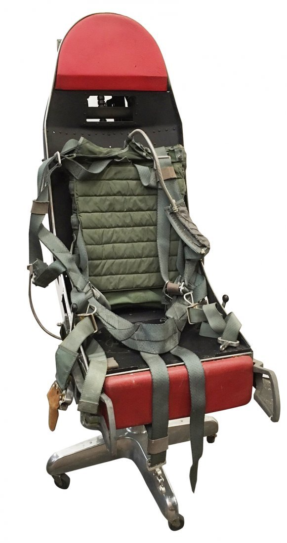 sc 1 st  LiveAuctioneers & F16 Ejection Seat/Desk Chair