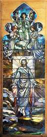Stained Glass Religious Window
