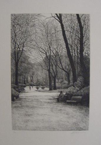 "6: Harold Altman ""On a Park Bench"""