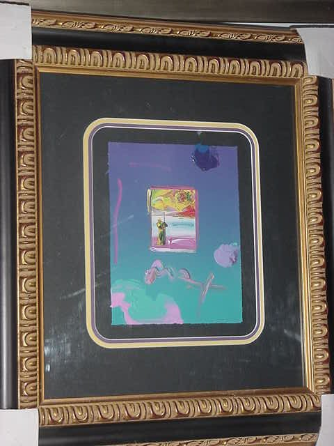 """17: Peter Max """"Promised Land"""""""