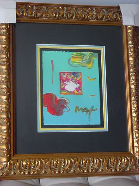 """19: Peter Max """"Flower Blossom Lady"""""""