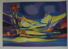 """46: Marcel Mouly """"Le Lac Bleu"""""""