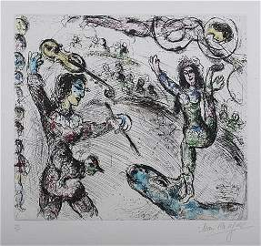 "121: Marc Chagall ""Acrobate et Violiniste"""