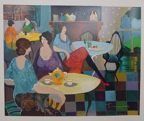 "2: Yitzak Tarkay ""Afternoon Tea"""