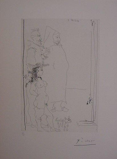 "7: Pablo Picasso ""Personnnages"""
