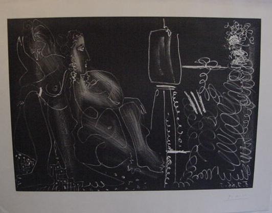 """8: Pablo Picasso """"Dans l'Atelier"""""""
