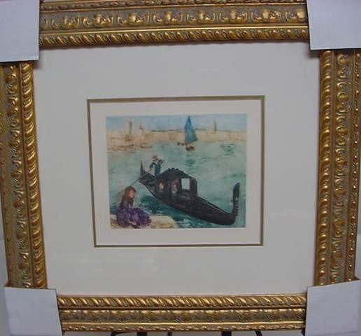 """10: Pierre Auguste Renoir """"Venise"""""""
