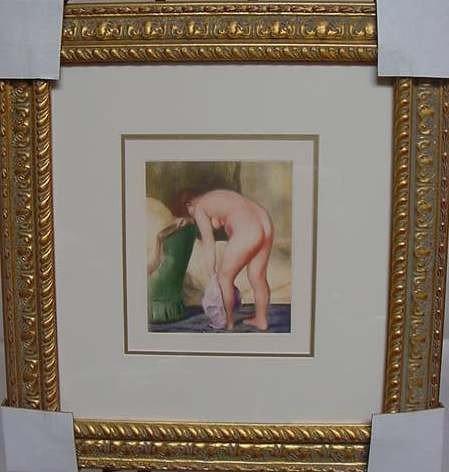 """11: Pierre Auguste Renoir """"Apres le Bain"""""""