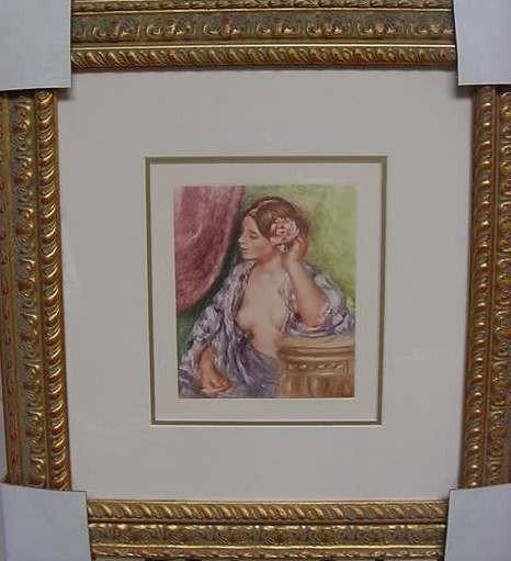 """12: Pierre Auguste Renoir """"Femme a sa Coiffure"""""""