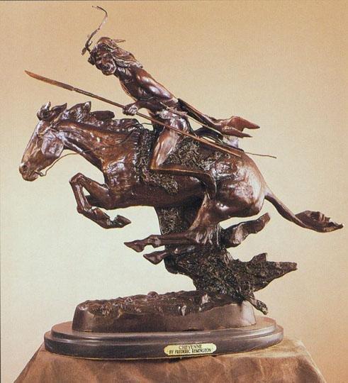 """13: Frederick Remington """"Cheyenne"""""""