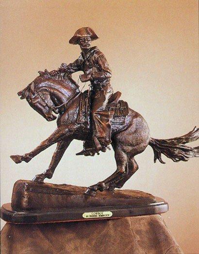 """14: Frederick Remington """"Cowboy"""""""