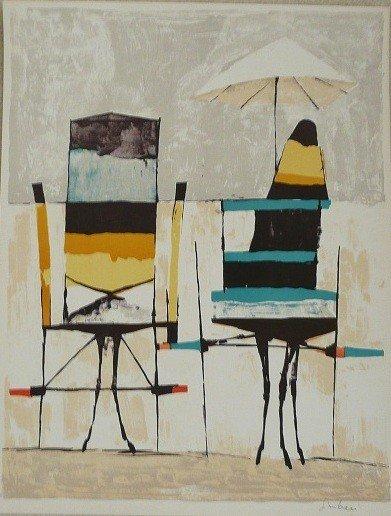 """20: Nicola Simbari """"Beach Chairs"""""""