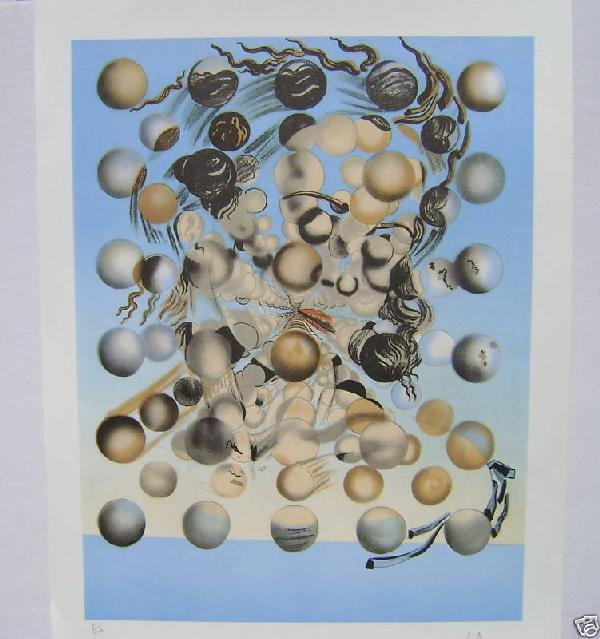 "76: Salvador Dali ""Galatea Spheres"""