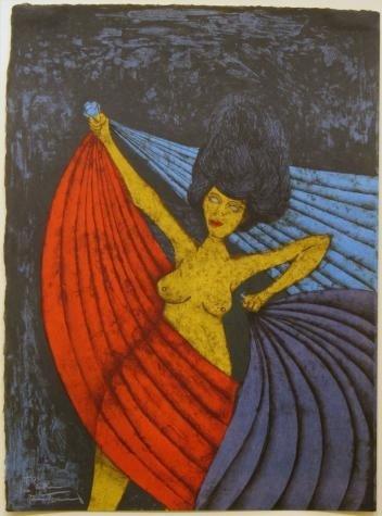 """265: Rufino Tamayo """"Salome"""""""