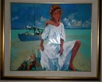 """135: Nicola Simbari """"La Belle aux Maldives"""""""