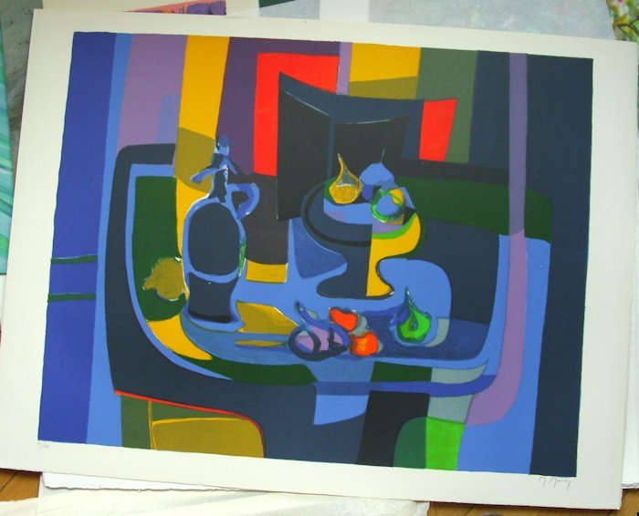 "1: Marcel Mouly ""Still Life"""