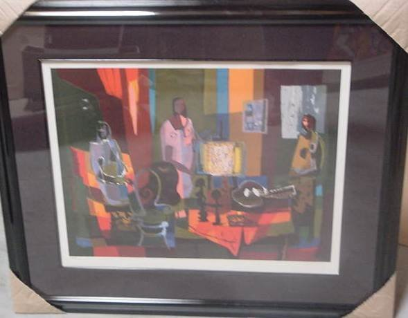 "3: Marcel Mouly ""Interior with 3 Woman"""