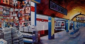 """6: Ken Keeley """"My Underground 34th St. Station"""