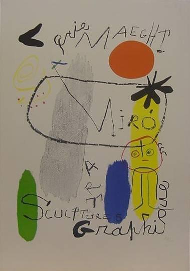 2: Joan Miro Exhibition Poster