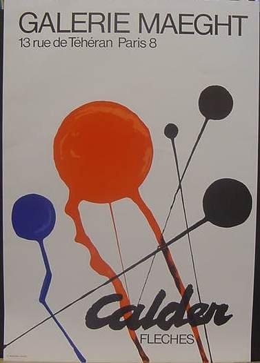4: Calder Exhibition Poster