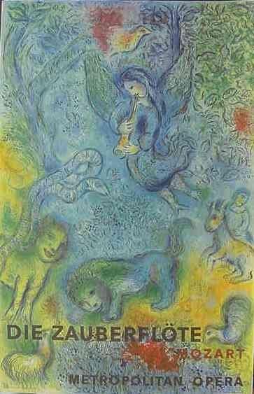 5: Chagall Metropolitan Opera Poster