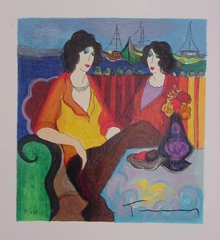 "6: Yitzhak Tarkay ""At the Port"""