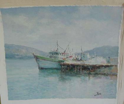 "12: Alex Perez ""Fishing Boats Pier O/C"