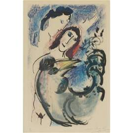 "49: Marc Chagall ""Coq Jaune"" etching"
