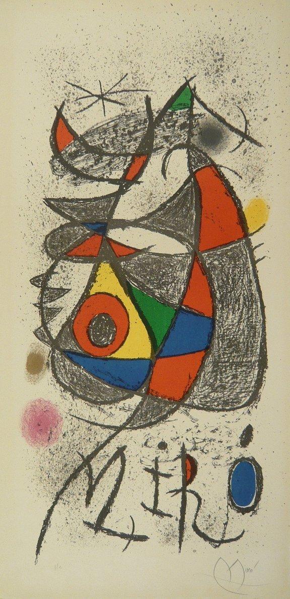 1818752: Joan MIRO (1893-1983)