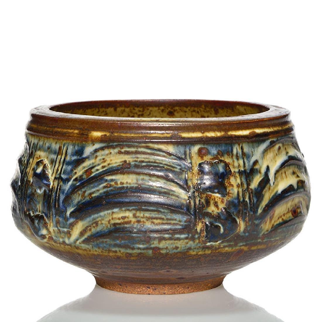 "Vivika & Otto Heino bowl, 4 3/4"" x 8 3/4"""