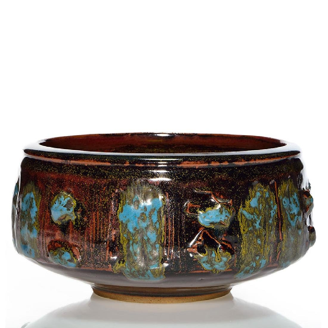 "Vivika & Otto Heino bowl, 4 1/4"" x 8 1/2"""