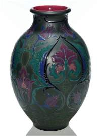 """Rookwood French Red vase,Sax,1923,2246C,14 1/8"""""""
